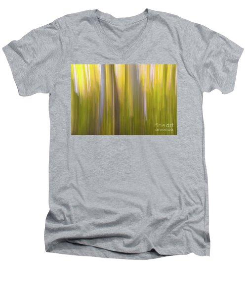 Aspen Blur #6 Men's V-Neck T-Shirt