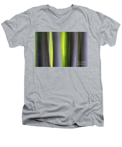 Aspen Blur #7 Men's V-Neck T-Shirt