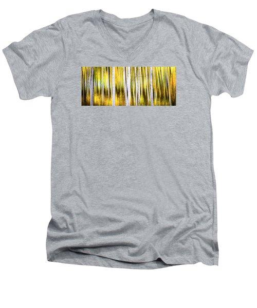 Aspen Wonderland Men's V-Neck T-Shirt by Bjorn Burton