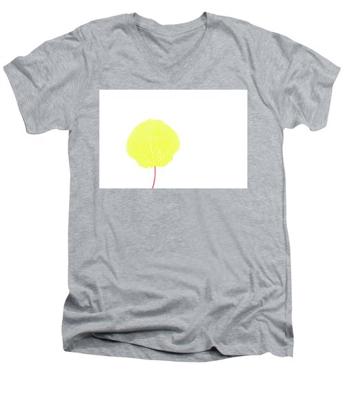 Aspen Yellow Men's V-Neck T-Shirt