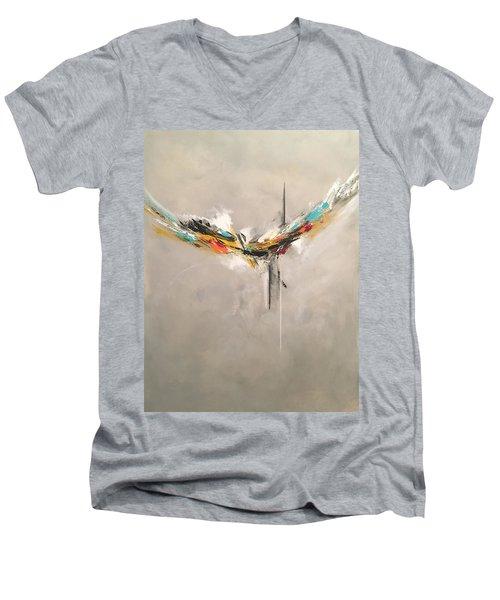 Aspire Men's V-Neck T-Shirt