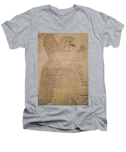 Assyrian Guardian Men's V-Neck T-Shirt
