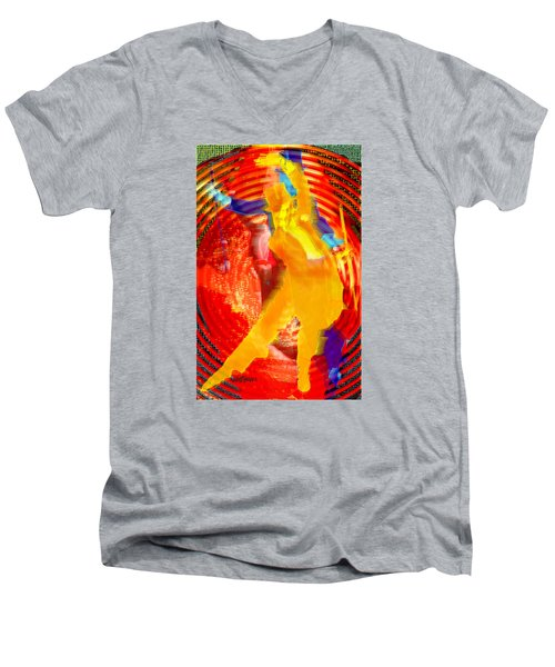 Astaire Way To Heaven Men's V-Neck T-Shirt by Seth Weaver