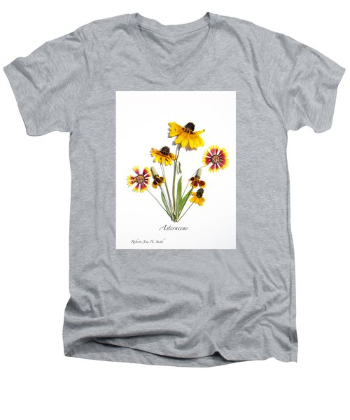 Asteraceae Men's V-Neck T-Shirt