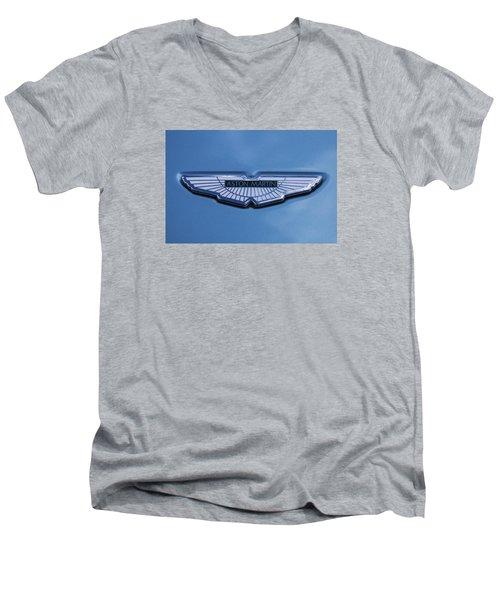 Aston Martin Men's V-Neck T-Shirt by Scott Carruthers