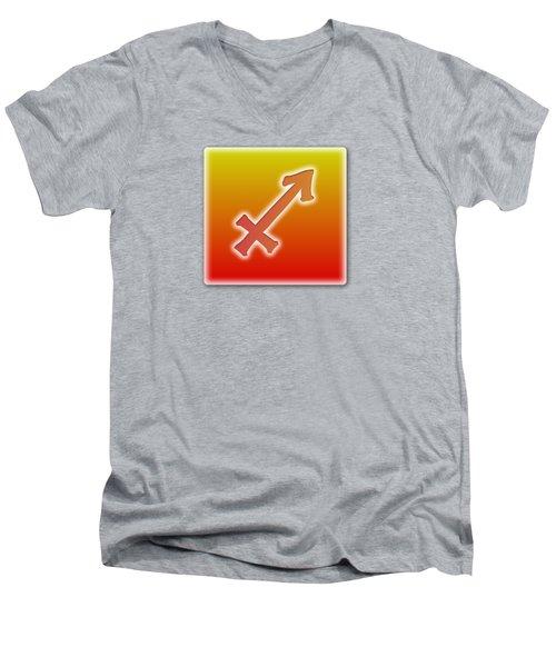 Sagittarius November 22 - December 21 Sun Sign Astrology  Men's V-Neck T-Shirt