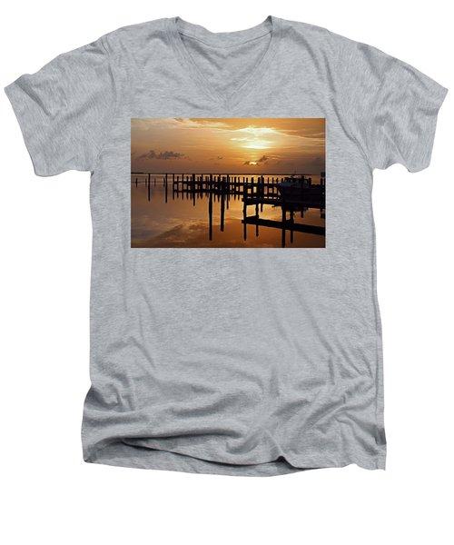 At Day's Close Men's V-Neck T-Shirt