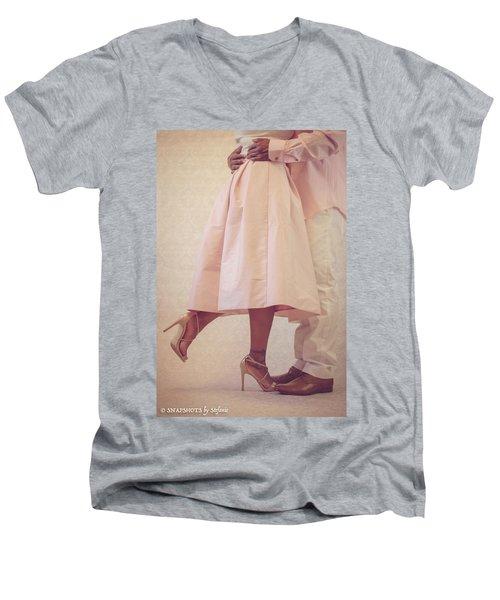 At Last Men's V-Neck T-Shirt