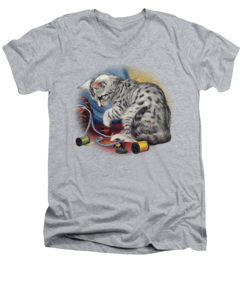 At Play Men's V-Neck T-Shirt