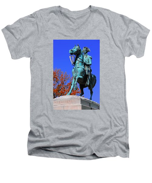 At The Battle Of Princeton Men's V-Neck T-Shirt
