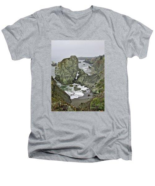 At The Edge Men's V-Neck T-Shirt