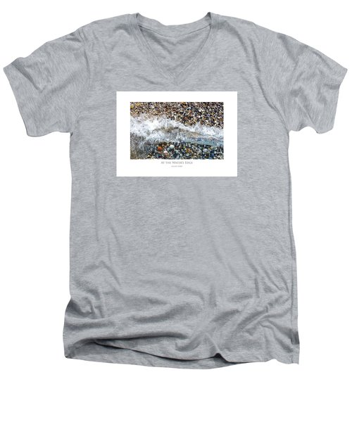At The Waters Edge Men's V-Neck T-Shirt