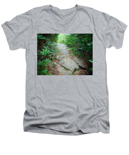 At-trail Blazes Men's V-Neck T-Shirt