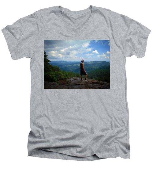 Appalachian Trail - Views Men's V-Neck T-Shirt