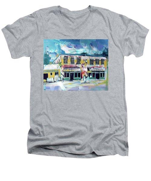 Athens Ga The Grit Men's V-Neck T-Shirt