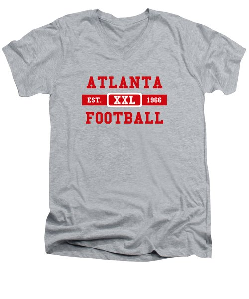 Atlanta Falcons Retro Shirt 2 Men's V-Neck T-Shirt