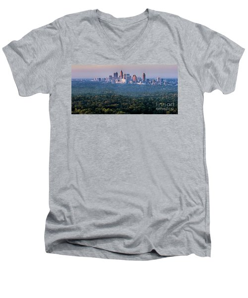 Atlanta Skyline Men's V-Neck T-Shirt