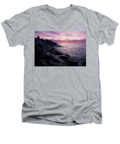 Atlantic Dawn Men's V-Neck T-Shirt