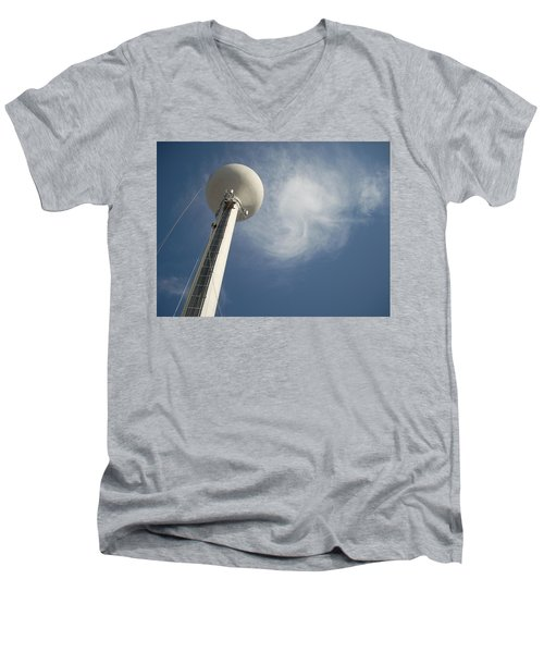 Atlas Men's V-Neck T-Shirt by Robert Geary