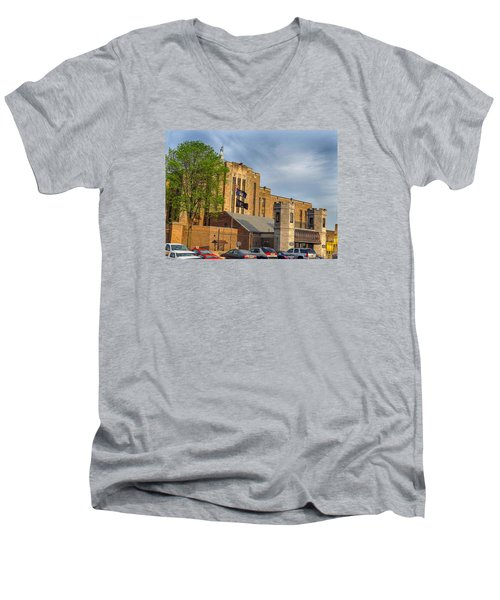 Auburn Correctional Facility Men's V-Neck T-Shirt