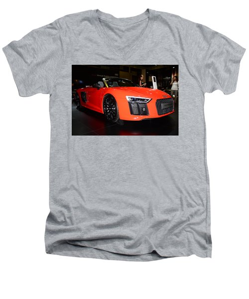 Audi R8 Men's V-Neck T-Shirt