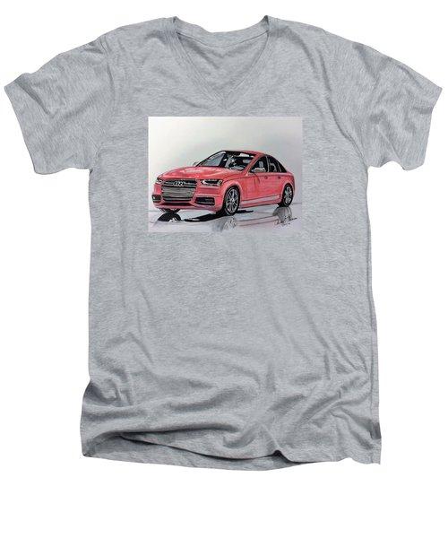 Audi S4 Men's V-Neck T-Shirt