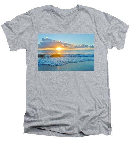 August 12 Nags Head, Nc Men's V-Neck T-Shirt