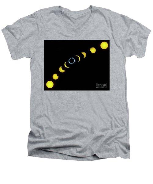 August 2017 Men's V-Neck T-Shirt