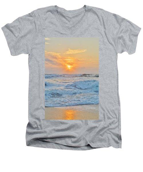 August 28 Sunrise Men's V-Neck T-Shirt