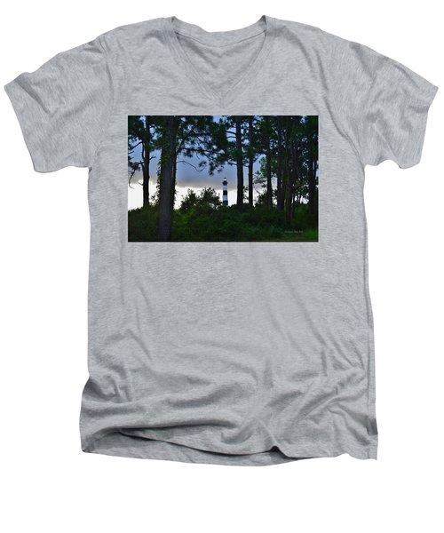 August 9 Bodie Lt House Men's V-Neck T-Shirt