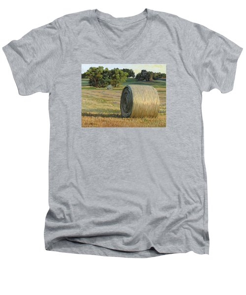 August Bales Men's V-Neck T-Shirt
