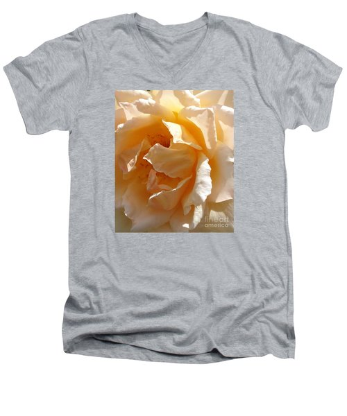 August Rose 1 Men's V-Neck T-Shirt
