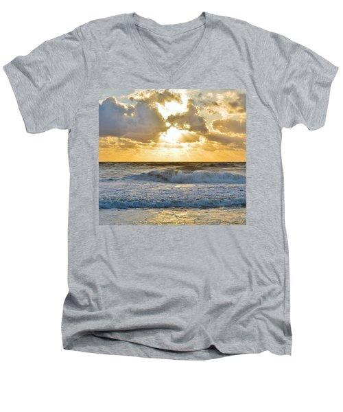 August Sunrise Men's V-Neck T-Shirt