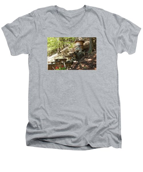 Ausable River Mining Company Men's V-Neck T-Shirt