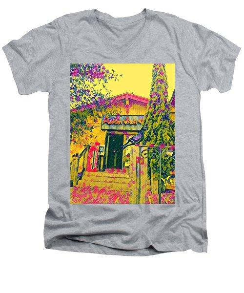 Austin Java Electric Men's V-Neck T-Shirt