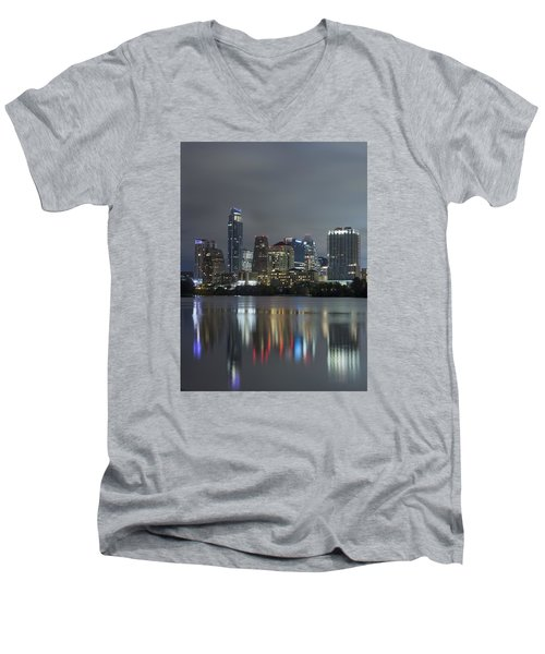 Austin Reflections Men's V-Neck T-Shirt