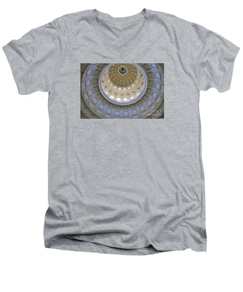Austin State Capitol Dome Men's V-Neck T-Shirt