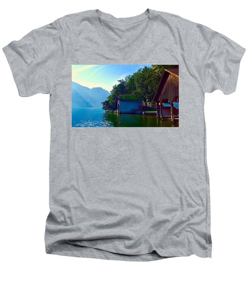 Austrian Alps Men's V-Neck T-Shirt