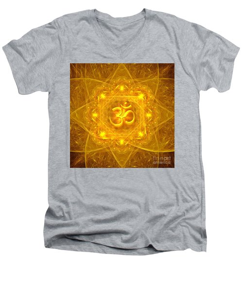 Authentic Om  Men's V-Neck T-Shirt
