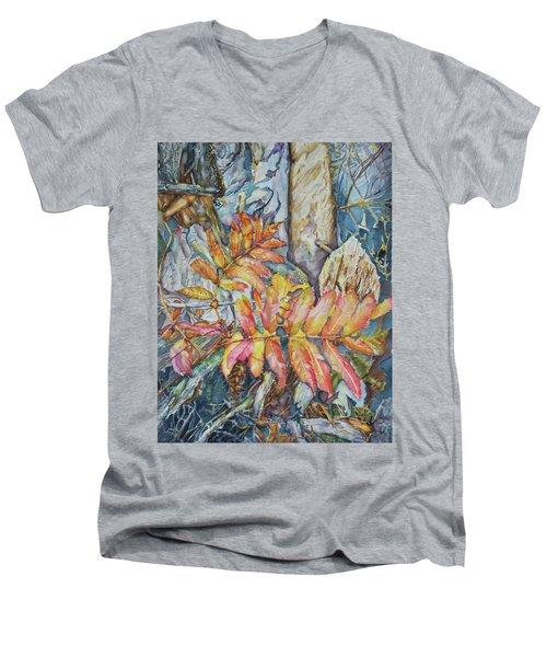 Autum Magic Men's V-Neck T-Shirt
