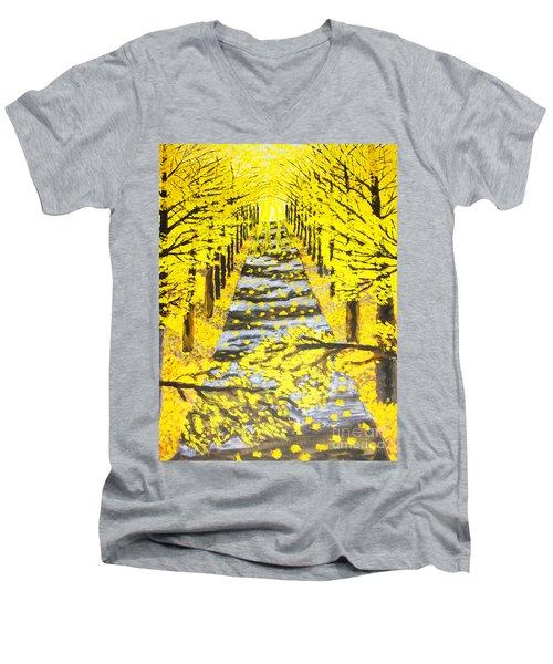 Autumn Avenue Men's V-Neck T-Shirt