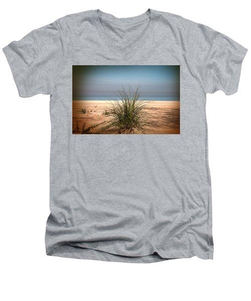 Autumn Beach Men's V-Neck T-Shirt