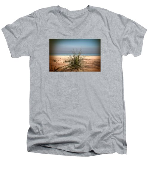 Autumn Beach Men's V-Neck T-Shirt