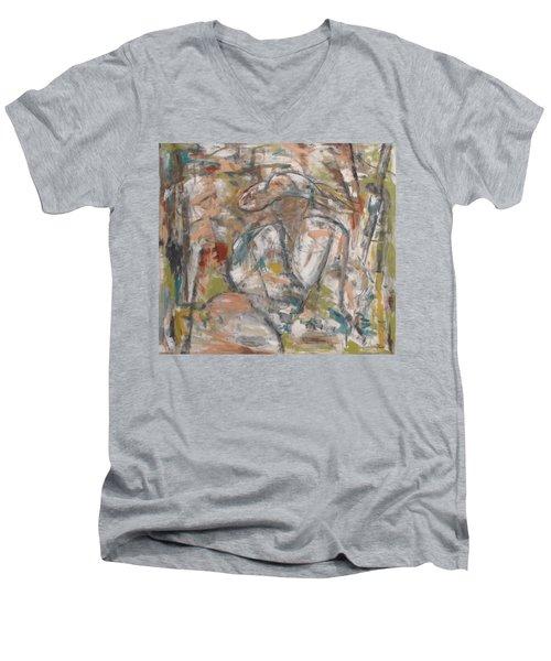 Autumn Breeze Men's V-Neck T-Shirt