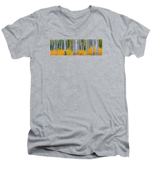 Autumn Dance Men's V-Neck T-Shirt