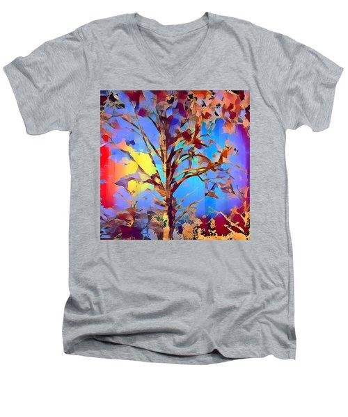 Autumn Day Men's V-Neck T-Shirt