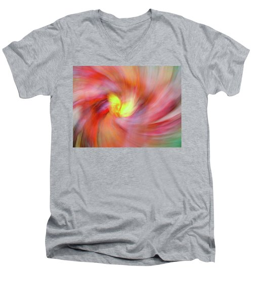Autumn Foliage 12 Men's V-Neck T-Shirt by Bernhart Hochleitner