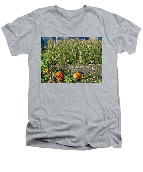 Autumn Harvest Men's V-Neck T-Shirt