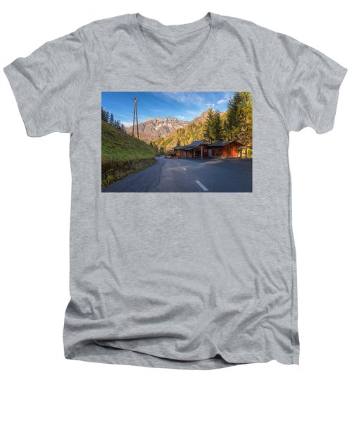 Autumn In Slovenia Men's V-Neck T-Shirt