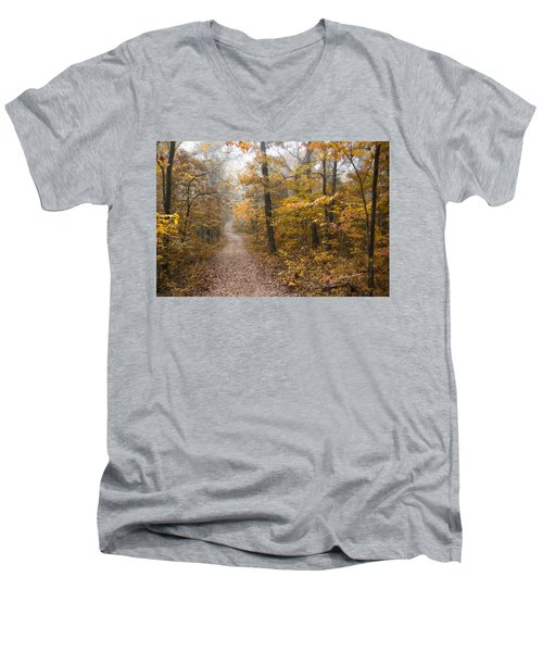 Autumn Morning Men's V-Neck T-Shirt